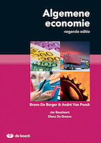 Algemene economie - Andre van Poeck, Bruno de Borger (ISBN 9789045552170)