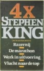 4 X Stephen King - Stephen King, Amp, Margot Bakker (ISBN 9789024516117)