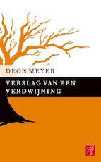 Verslag van een verdwijning - Deon Meyer (ISBN 9789044969702)