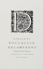 Decamerone - Giovanni Boccaccio (ISBN 9789025364472)