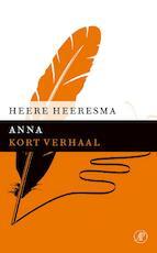 Anna - Heere Heeresma (ISBN 9789029590853)