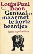 Geniaal... maar net te korte beentjes - Louis Paul Boon, Herwig [ed.] Leus