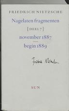 Nagelaten fragmenten - Friedrich Nietzsche (ISBN 9789061685975)