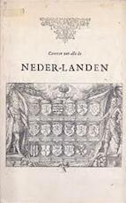 Caerten van alle de Neder-landen