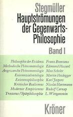 Hauptströmungen der Gegenwartsphilosophie - Wolfgang Stegmüller (ISBN 9783520308061)