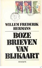 Boze brieven van bijkaart - Willem Frederik Hermans