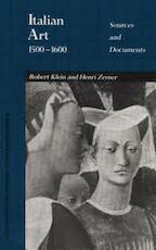 Italian Art 1500-1600 - Robert Klein (ISBN 9780810108523)