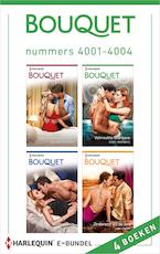 Bouquet e-bundel nummers 4001 - 4004 - Melanie Milburne (ISBN 9789402537550)