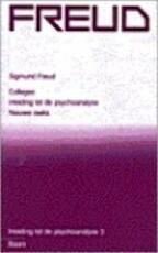 Inleiding tot de psychoanalyse / 3 - Sigmund Freud (ISBN 9789060098929)