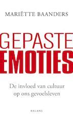 Gepaste emoties - Mariette Baanders, Mariëtte Baanders (ISBN 9789460033131)