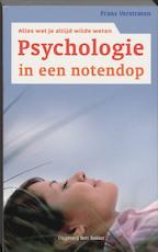 Psychologie in een notendop - Frans Verstraten (ISBN 9789035129054)