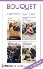 Bouquet e-bundel nummers 3642-3645 - Annie West (ISBN 9789402513899)