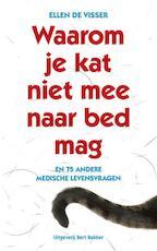 Waarom je kat niet mee naar bed mag - Ellen De Visser (ISBN 9789035139572)