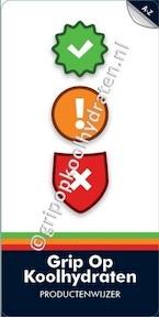 Grip op Koolhydraten - Productenwijzer - Yvonne Lemmers (ISBN 9789081556323)