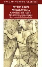 Myths from Mesopotamia - Stephanie Dalley (ISBN 9780192835895)