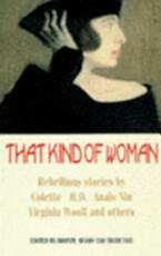 That Kind of Woman - Bronte Adams, Trudi Tate (ISBN 9781853811968)
