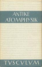 Antike Atomphysik - Alfred Stückelberger (ISBN 9783776521825)
