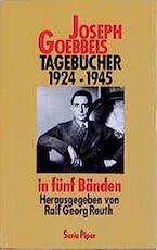 Tagebücher 1924-1945 - Joseph Goebbels (ISBN 9783492115155)
