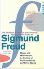 omplete Psychological Works Of Sigmund Freud, The Vol 23: