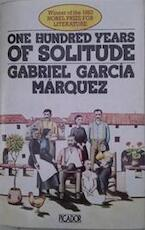 One hundred years of solitude - Gabriel García Márquez, Gregory Rabassa (ISBN 9780330255592)