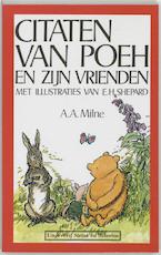 Citaten van Poeh en zijn vrienden - Alan Alexander Milne (ISBN 9789064410871)
