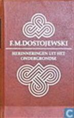 Herinneringen uit het ondergrondse - Fjodor M. Dostojewski (ISBN 9789020440058)