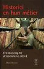 Historici en hun métier - Marc Boone (ISBN 9789038211190)