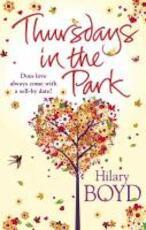 Thursdays in the Park - Hilary Boyd (ISBN 9780857385178)