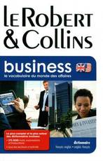 Le Robert & Collins Business - A. Duval (ISBN 9782321001638)