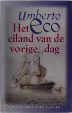 Het eiland van de vorige dag - Umberto Eco (ISBN 9789035117723)