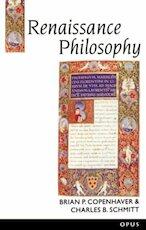 Renaissance Philosophy - Brian P Copenhaver (ISBN 9780192891846)