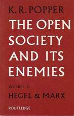 The open society and its enemies - Sir Karl Raimund Popper (ISBN 9780710046260)