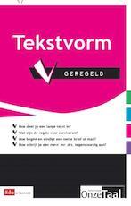 Tekstvorm geregeld - Unknown (ISBN 9789012581356)