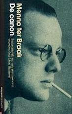 De canon - Menno ter Braak (ISBN 9789029074148)