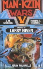 Man-Kzin Wars V - Larry Niven, Jerry Pournelle, S. M. Stirling, Thomas T. Thomas (ISBN 9780671721374)