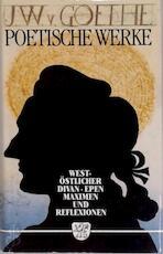 Goethes poetische werke - Johann Wolfgang Von Goethe (ISBN 3888510058)
