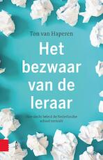 Het bezwaar van de leraar - Ton van Haperen (ISBN 9789462988637)