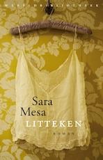Litteken - Sara Mesa (ISBN 9789463624794)