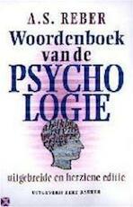 Woordenboek van de psychologie - A.S. Reber (ISBN 9789035118225)