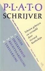 Plato, schrijver - Plato, Gerard Koolschijn (ISBN 9789035111721)