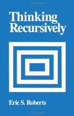 Thinking Recursively - Eric Roberts