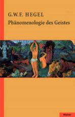 Phänomenologie des Geistes - Georg Wilhelm Friedrich Hegel (ISBN 9783787318131)