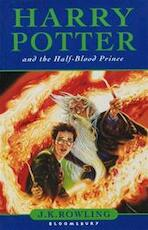 Harry Potter and the HalfBlood Prince - J.K. Rowling (ISBN 9780747581086)