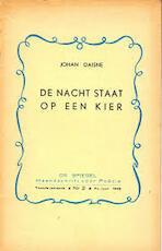 De nacht staat op een kier - Johan Daisne