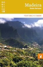 Madeira - Guido Derksen (ISBN 9789025763749)