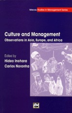 Culture and Management - Hideo Inohara, Carlos Noronha (ISBN 9789726580690)