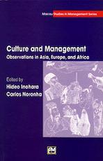 Culture and Management - Hideo Inohara, Carlos Noronha (ISBN 9789726580690)