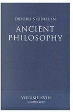Oxford studies in ancient philosophy - Jonathan Barnes [Ed.], M. Frede [Ed.] (ISBN 9780198250821)