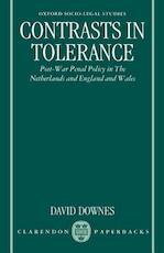 Contrasts in Tolerance - David Downes (ISBN 9780198258339)