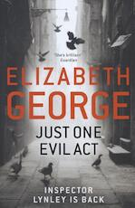 Just One Evil Act - Elizabeth George (ISBN 9781444706000)